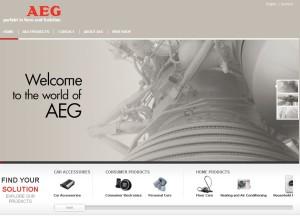 AEG (Аег) - бытовая техника из Германии. История компании