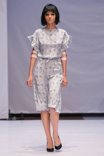 Фото с показа коллекции дизайнера Anna K на Mercedes-Benz Kiev Fashion Days 2013