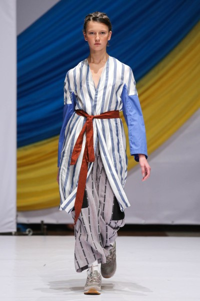 Фото с показа дизайнера Антона Белинского на Mercedes-Benz Kiev Fashion Days 2013