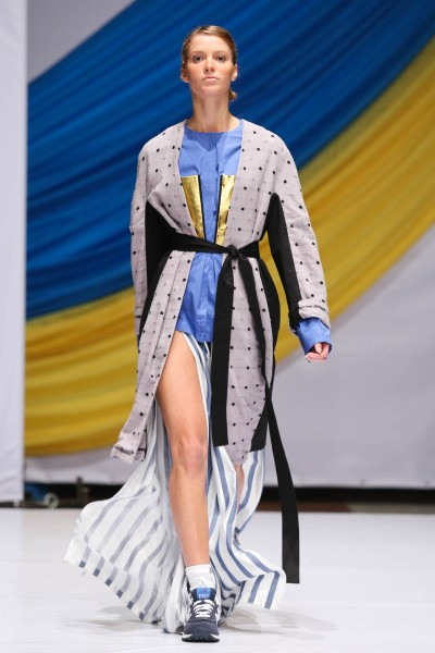 Фото с показа дизайнера Антона Белинского на Mercedes-Benz Kiev Fashion Days 2013