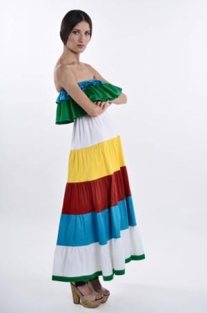 Лукбук весенней коллекции женской одежды от бренда Bengolarrea