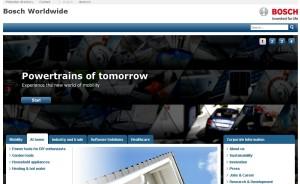 Bosch (Бош) - бытовая техника и электроника из Германии. История компании