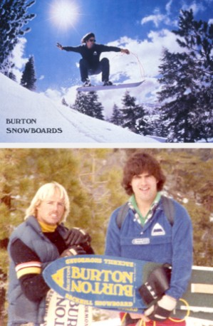 Burton Snowboards, сноуборды