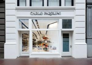 Дизайн магазинов Carlo Pazolini от Джоржио Бруссо