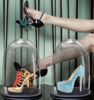Туфли на платформе стразы