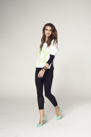 Colins весна-лето 2014, лукбук женской джинсовой одежды