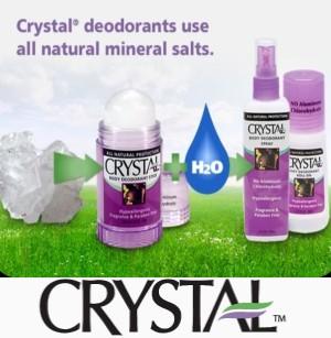 Crystal (Кристалл) – натуральный дезодорант из США. Отзывы. Где купить в Украине