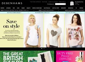 Debenhams (Дебенхамс) – сеть универмагов одежды из Англии. Адреса магазинов в Украине