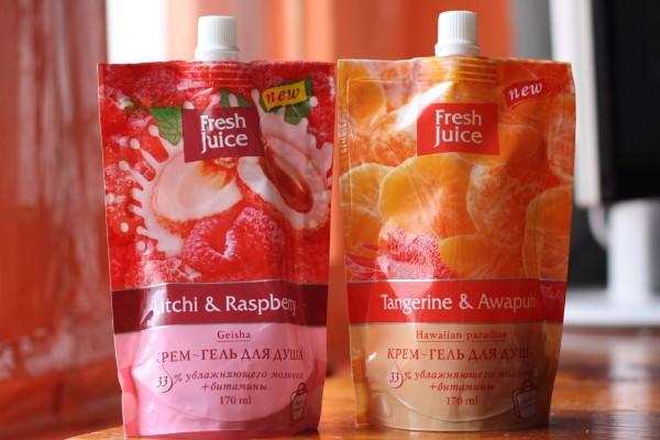 Крем-гель для душа Fresh Juice. Отзыв