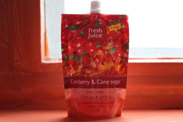 гель для душа Fresh Juice. Отзывы