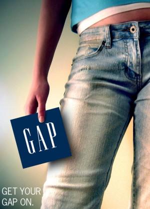 Gap, джинсы