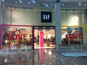 Три –счастливое число. Открылся третий по счету магазин Gap в Киеве