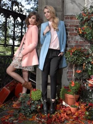 Новая рекламная кампания осенне-зимней коллекции одежды от бренда Kira Plastinina