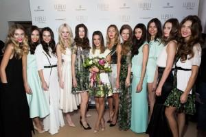 Фотографии показа коллекции LUBLU Kira Plastinina весна-лето 2014, которая проходила в Москве