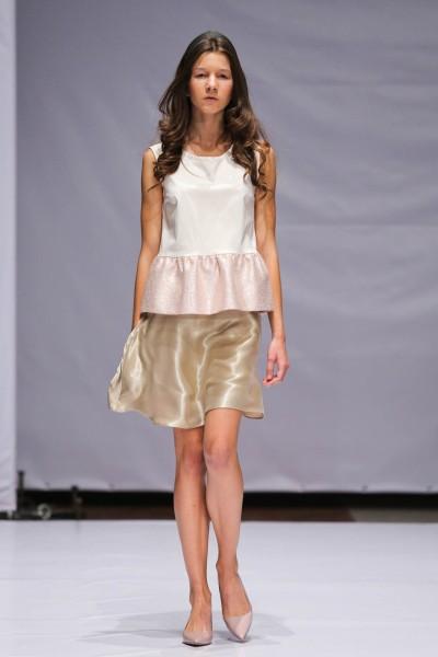 Фото с показа дизайнера Лены Ивановой на Mercedes-Benz Kiev Fashion Days 2013