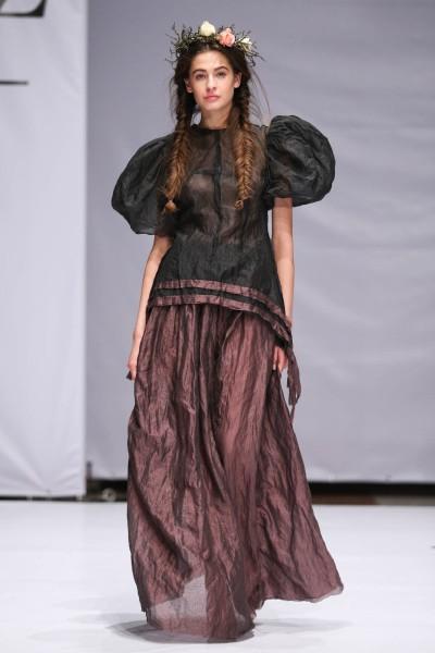 Фото коллекции дизайнера Lia Syn на Mercedes-Benz Kiev Fashion Days 2013