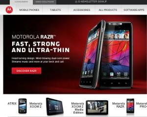 Motorola (Моторола) - электроника из США. История компании