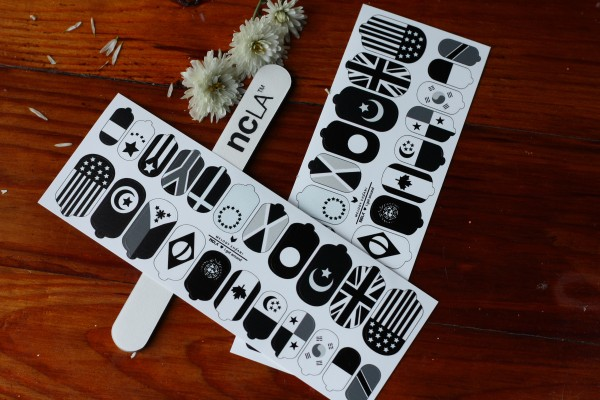 Отзыв о дизайнерских наклейках для ногтей NCLA Nail Wraps. Как пользоваться. Инструкция