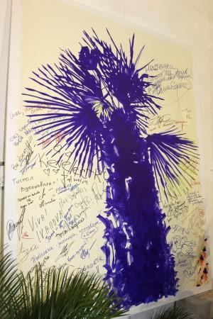 Инсталляция «Ялтинское побережье» в рамках 31-й Украинской Недели Моды от Nai Lu-na by Anastasiya Ivanova