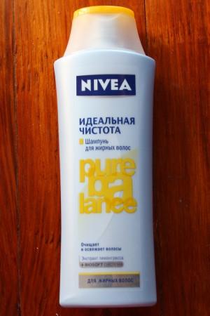 Шампунь для жирных волос Nivea, отзывытзывы