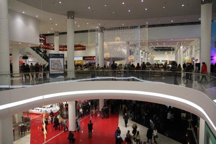 Обзор торгового центра Ocean Plaza. Фото