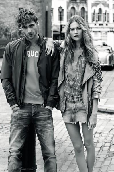 Рекламная кампания Pepe Jeans London, лукбук коллекции Весна–Лето 2014