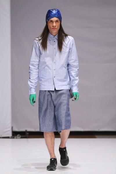 Фото коллекции дизайнера Sasha Kanevski на Mercedes-Benz Kiev Fashion Days 2013