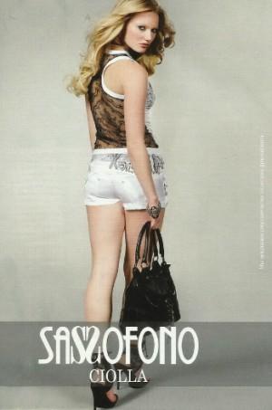 Сассофоно бренд женской одежды