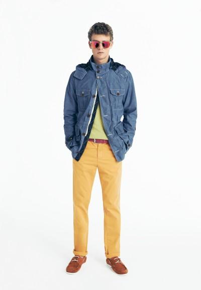 Tommy Hilfiger Весна-Лето 2014, лукбук мужской коллекции