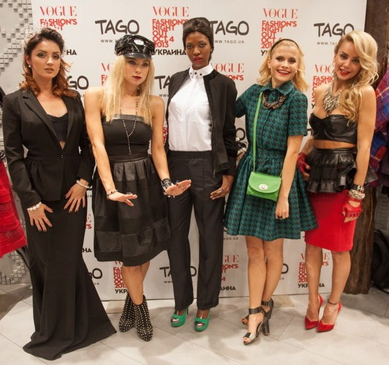 Фотографии с Vogue Fashions Night Out 2013, которое состоялось в В ТРЦ Оушен Плаза