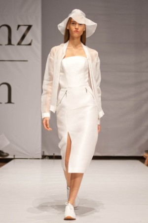 Фото коллекции дизайнера Яси Миночкиной на Mercedes-Benz Kiev Fashion Days 2013