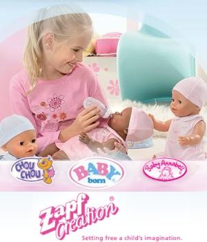 Zapf Creation AG (Запф Криэйшн АГ) – детские игрушки из Германии. Где купить в Украине