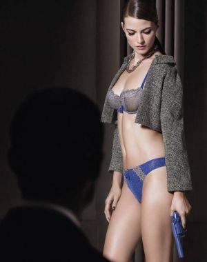 Имиджевая кампания Aubade, женское белье осень-зима 2015-16