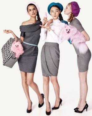 Известные...  Модные платья осень 2010 от gucci платья осень фото.
