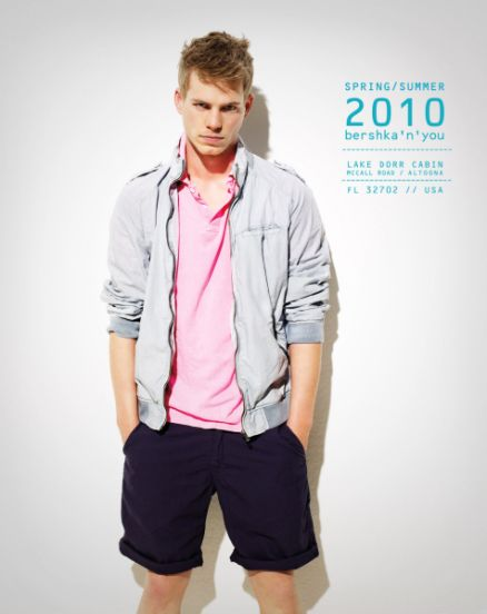 bershka 2010 мужская одежда