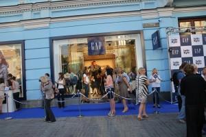 Gap магазин Крещатик Киев