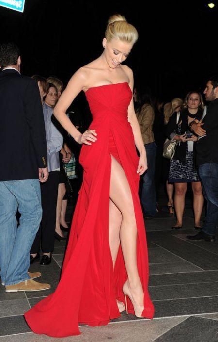 Платья под красные туфли