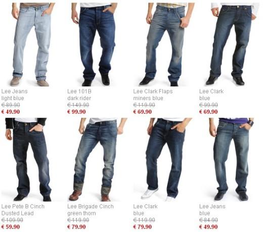 lee ли джинсы мужские