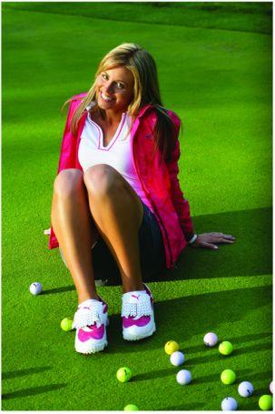 Puma Пума кроссовки девушка гольф