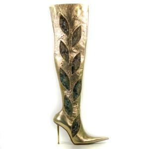 Женские сапоги на высоких стальных шпильках(каблуках). Где купить в Киеве
